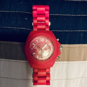 Pink Michael Kors watch